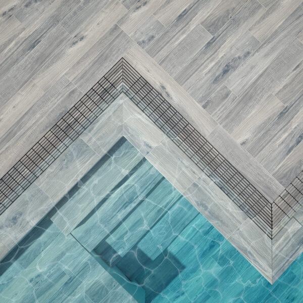 yukon borde piscina desbordante