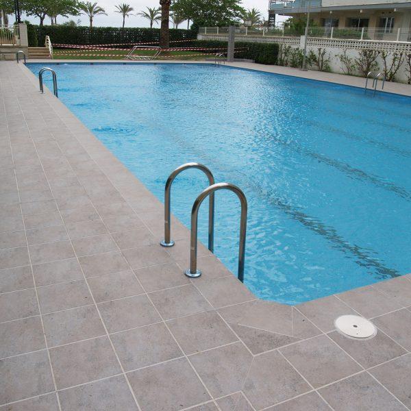 piscina comunitaria ceramica extrusionada