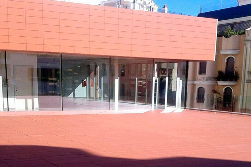 terraza transitable placas cerámicas