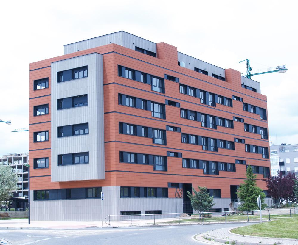 edificio fachada ventilada favemanc