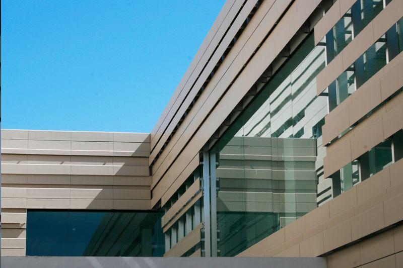 detalle fachada ventilada ceramica