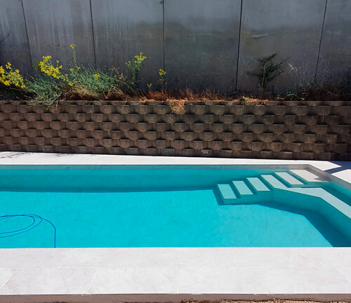 piscina privada de tendencia
