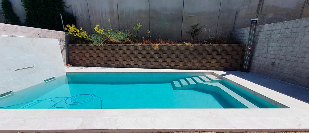 piscina privada de tendencia