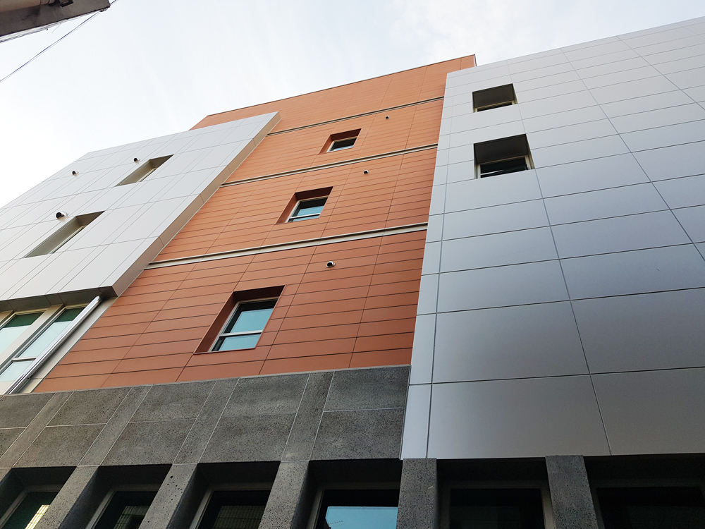 fachada ventilada edificio daegu